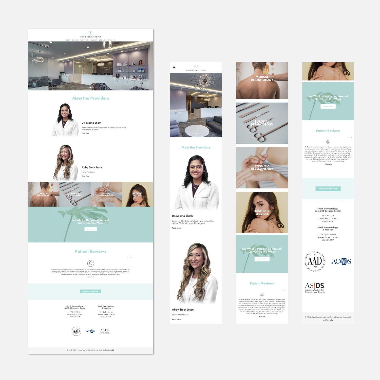 Sheth_Dermatology_Website_Mockup